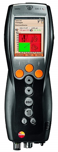testo 330-2 LL - Flue Gas Analyser (Pro set with Bluetooth)