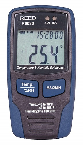 REED Instruments R6030 Temperature Humidity Data Logger