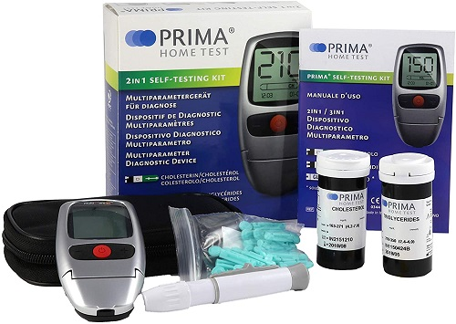 PRIMA 2in1 - Cholesterol and Triglycerides Meter